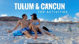 OUR TOP Food/Beach Moments in TULUM, Mexico