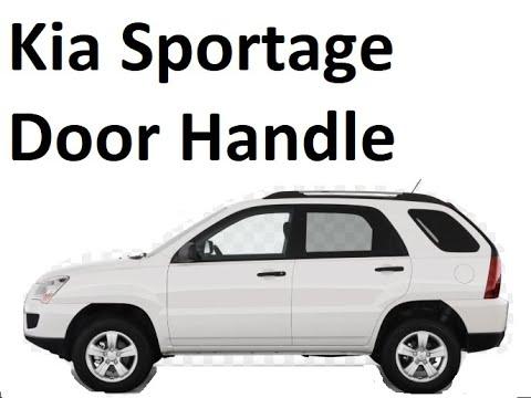 How to replace Door Handle on Kia Sportage 05-10