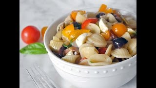Mediterranean Pasta Salad By Cooking With Manuela