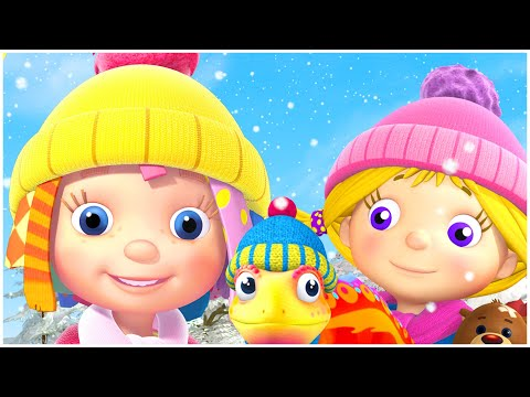 Cartoon for kids | Winter Story | The Abominable Snow Bear | Compilation | Everythings Rosie