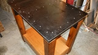 Making A Steel Work Table, Part 4 Of 4