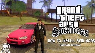 GTA San Andreas - How to Install Skin Mods (Complete Tutorial)