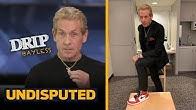 DRIP BAYLESS Q&A on Choosing LeBron Over Kawhi, Tom Brady, Skip on his Drip and More | UNDISPUTED