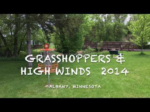 Disc Golf, Grasshoppers, & High Winds