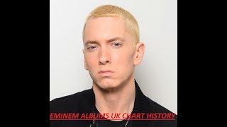 EMINEM ALBUMS UK CHART HISTORY