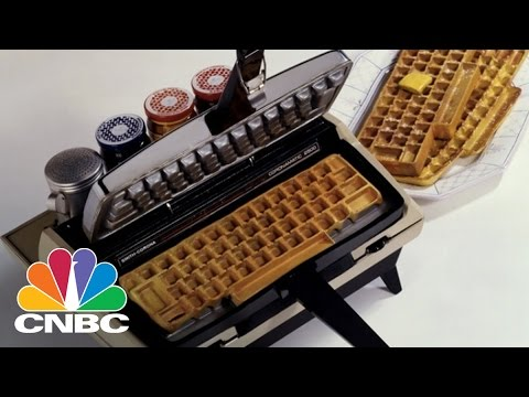 Computer Keyboard Waffle Maker | CNBC