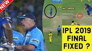 IPL FINAL 2019 FIXED ? | MI vs CSK |Csk vs Mi