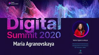 Digital Summit 2020 Day 1.3 Broadcast of the speech by Maria Agranovskaya - Bar Association GRAD