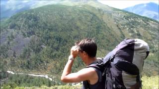 Trekking in the Altai mountains with Adventure peaks Team Leader Sean James