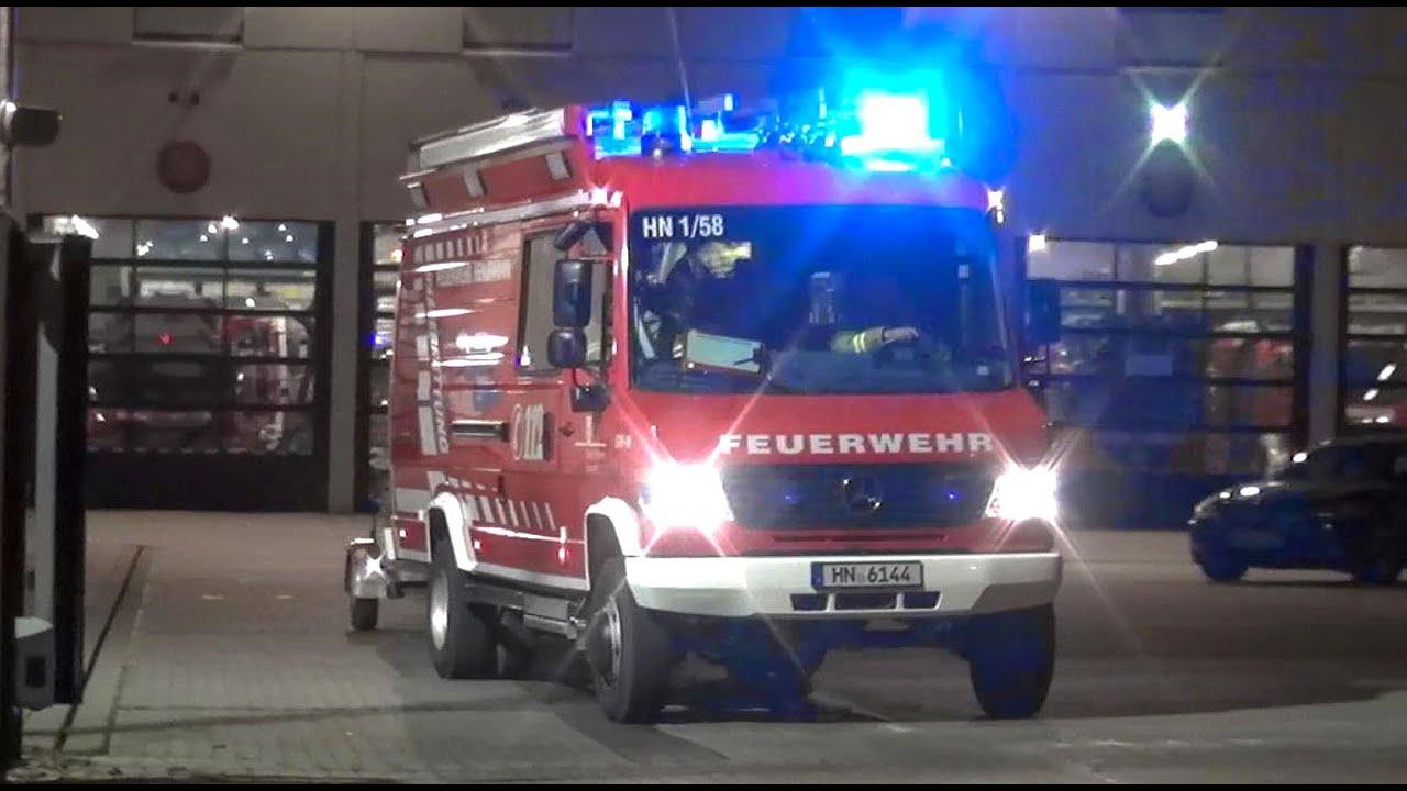 Elw Gw Wasserrettung Berufsfeuerwehr Heilbronn Hlf 20 16