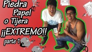 Piedra, papel o tijera ¡¡EXTREMO!! parte 1 | Kiobo thumbnail