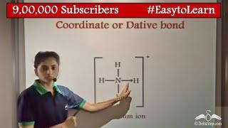 Coordinate Bond