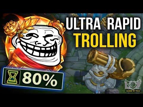 Ultra Rapid TROLLING in URF 2019 - League of Legends Plays | LoL Best Moments