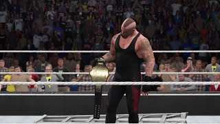 WWE 2K15- The Undertaker vs Batista for World Heavyweight Champion at Wrestlemania 23 (PS4)