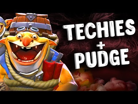 видео: ТЕКИС + ПУДЖ В ИГРЕ ДОТА 2 - techies + pudge dota 2