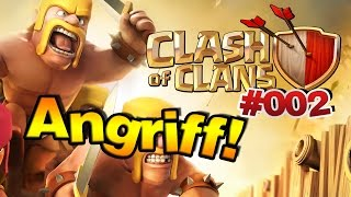 CLASH OF CLANS [Deutsch] - #002 Angriff der Anfänger! | Let's Play Clash of Clans