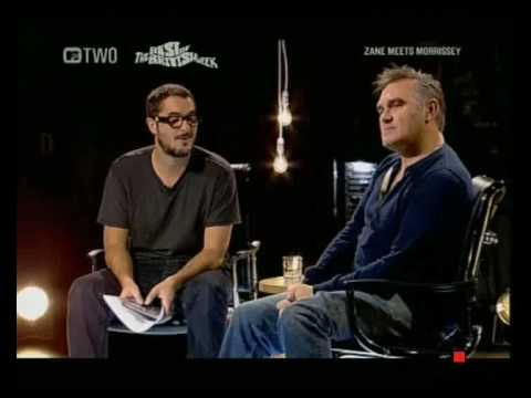 Zane Lowe Meets Morrissey (Part 1/4)