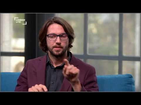 Fantasy on David Cameron - Thomas Hewitt Jones interview on London Live