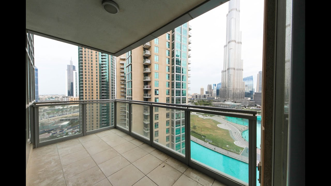 apartment for rent, 3 beds+maid, full burj khalifa and fountain