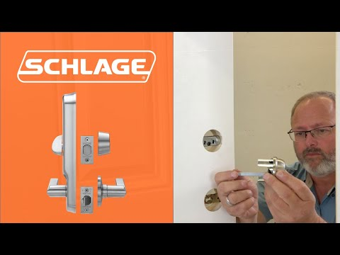 How To Install The Schlage CS210 Interconnect Lock
