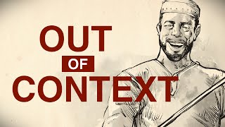 Forget the Pundits, Ask a Muslim - Out of Context (Part 1)  - Omar Suleiman