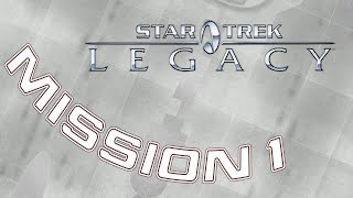 Star Trek: Legacy - Mission 1 Those in Need - Captain Archer NX Enterprise  ***No Commentary***