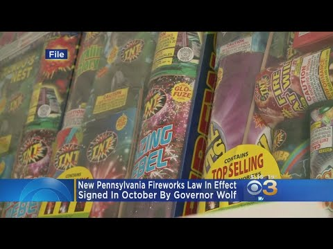 New Pennsylvania Law Legalizes Use Of Fireworks That Comply With Federal Standards