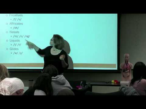 Educ 151. Lec 03. Language and Literacy: Understanding English Phonetics