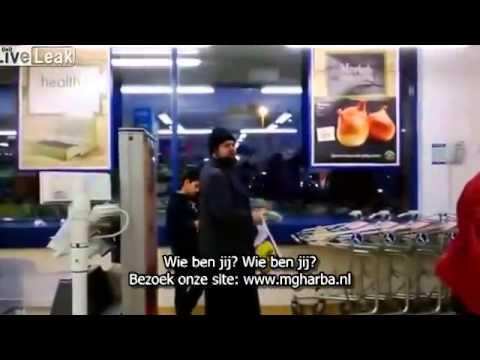 Caissière wenst moslim dood om een Lidl-tasje