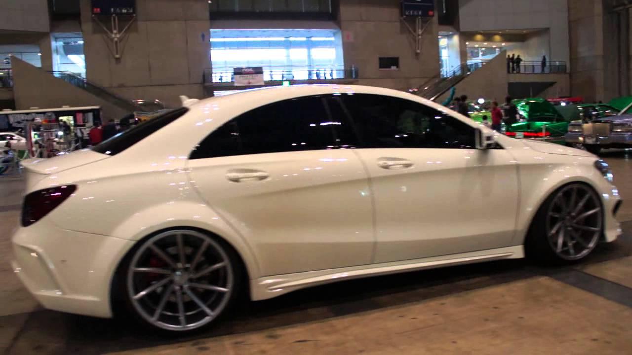 Mercedes Benz Cla  Black Rims
