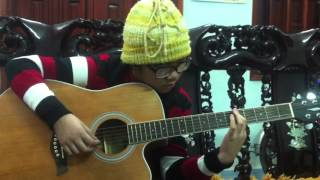 (Christmas carol)Silent night/Holy night-(guitar)Lê Thu Trang