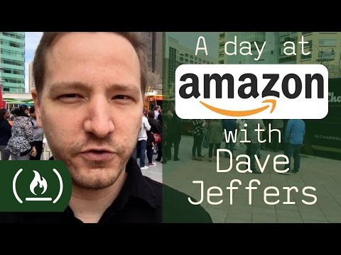 A Day At Amazon With Developer Dave Jeffers