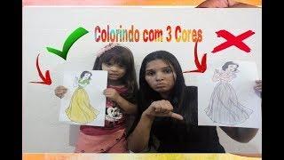 COLORINDO COM 3 CORES - 3 MARKER CHALLENGE