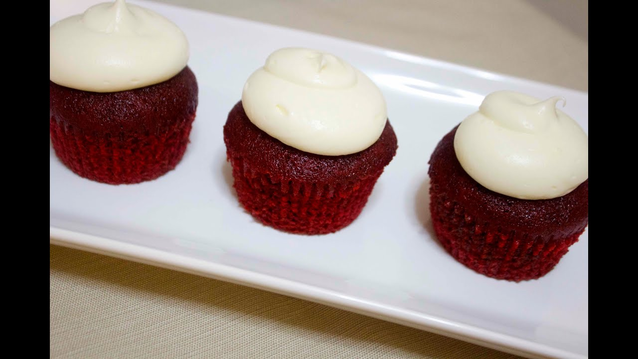 how to make red velvet cupcakes youtube