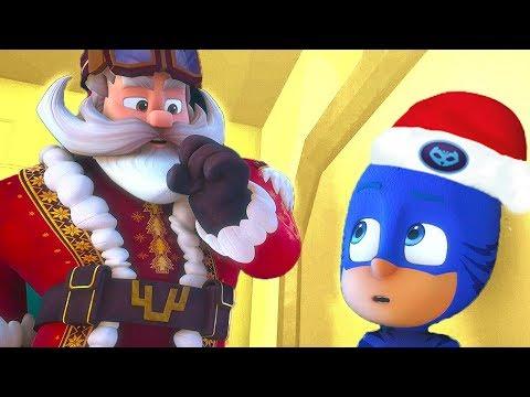 PJ Masks Episode 🎄 PJ Masks Meet Santa! 🎁 Christmas Special | Cartoons For Kids