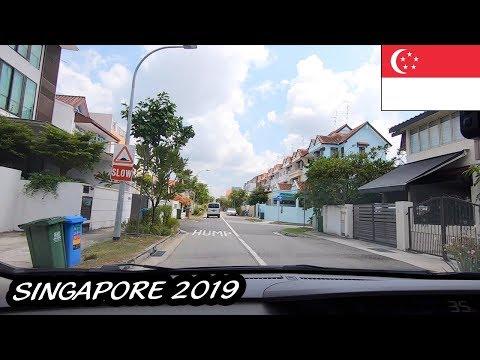 ĐI GRAB NGẮM ĐƯỜNG PHỐ Ở SINGAPORE || DU LỊCH SINGAPORE #1
