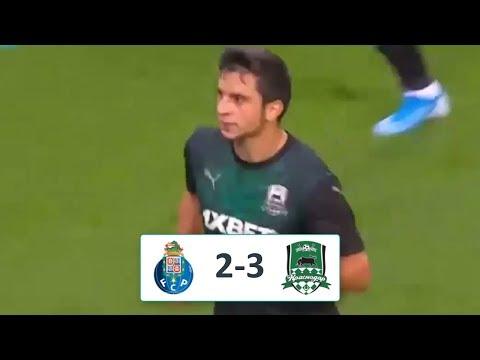 Порту - Краснодар 2-3 обзор матча