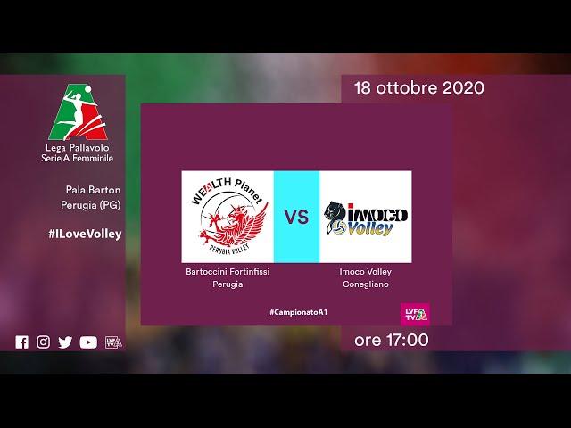 Perugia - Conegliano | Speciale | 6^Giornata Campionato | Lega Volley Femminile 2020/21