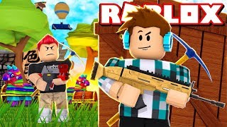 FORTNITE NO ROBLOX !! - ( Roblox Fortnite Battle Royale )
