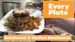 Smothered And Stuffed Meatloaves - EveryPlate Meal Kit