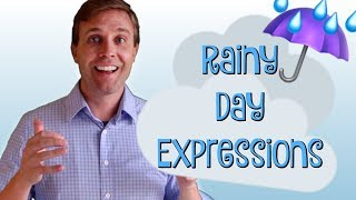 Useful English Expressions | Rain, Rain, Rain 🌧