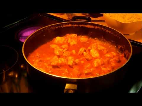 Chicken, Gluten Free Pasta & Tikka Marsala Sauce