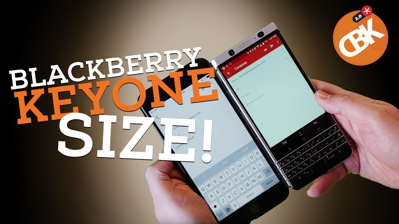 Blackberry keyone pictures official photos - Blackberry Keyone Gets Sized Up