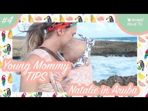 Baby Lola, het ochtendritueel, mommy tips en flamingo's in ARUBA! | MommyVlog #4 Natalie