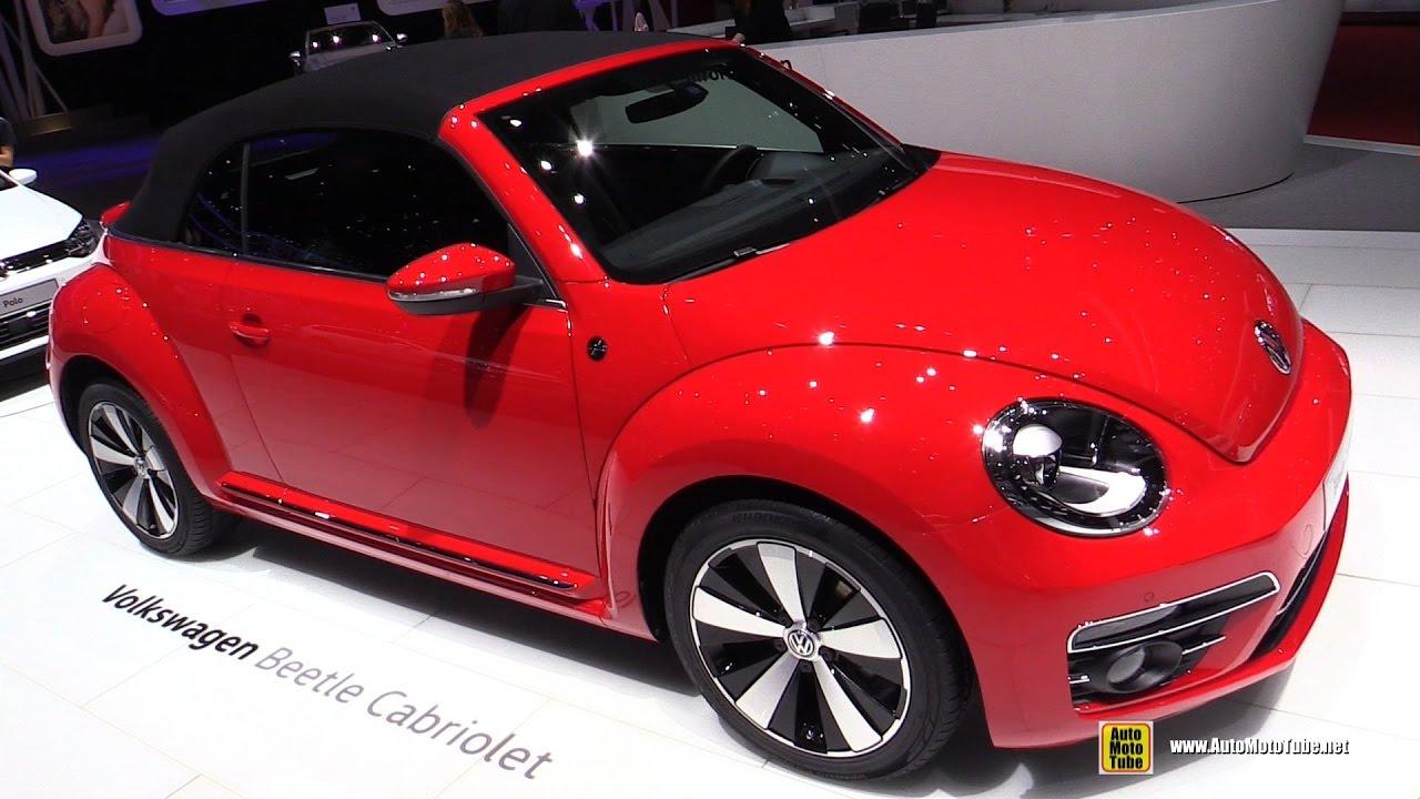 2017 Volkswagen Beetle Cabriolet Exterior And Interior Walkaround 2017 Geneva Motor Show