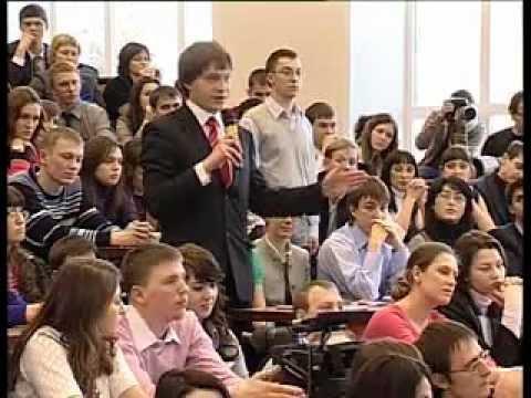 Визит Дмитрия Медведева в ТПУ