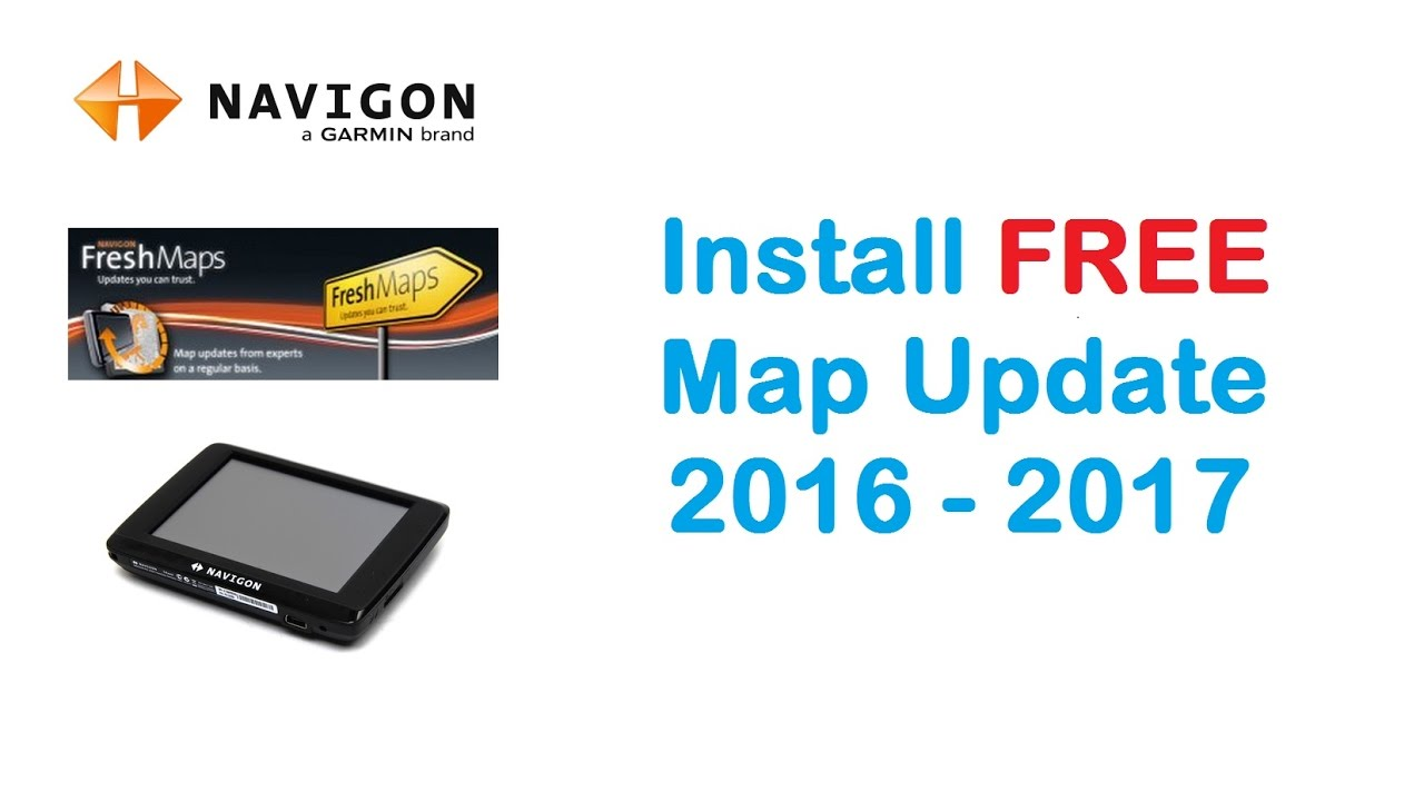 Navigon Usa Map Download.Navigon Install Free Map Update 2016 On Gps Device Youtube