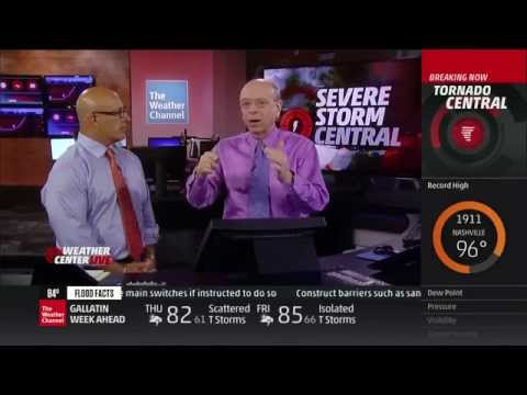 Severe Weather Coverage: June 3, 2014, 7-8pm - The Weather Channel