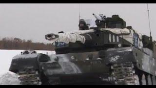 90式戦車 第71戦車連隊 第72戦車連隊 冬季訓練 ①