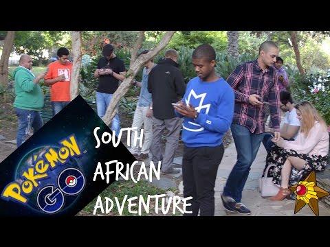 POKEMON GO Walking Adventure | CAPE TOWN SOUTH AFRICA!